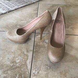 SM New York glitter heels